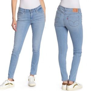 Levi's 711 Skinny Jeans Womens Size 27 Medium